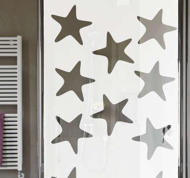 Naklejka do łazienki Rozgwiazdy na prysznic