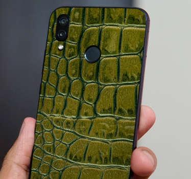 Nálepka krokodýl textury huawei