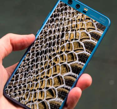이 야생 동물 스티커는 huawei 휴대 전화의 뒷면을 독창성으로 장식하기 위해 뱀 질감을 나타냅니다. 제거시 제로 잔류 물.