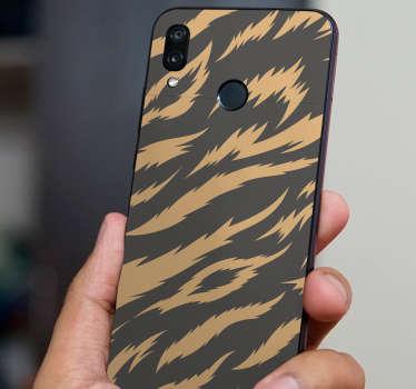 Tiger Texture Huawei Sticker
