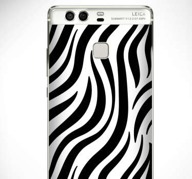 Zebra Texture Huawei Sticker
