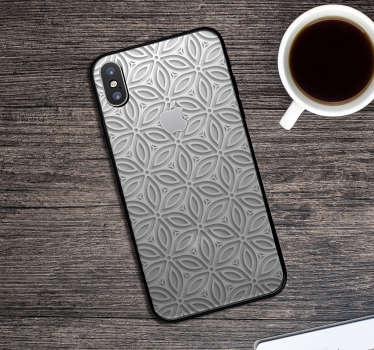 This iPhone sticker represents several patterns, with a japanese inspiration. Embellish your iPhone, it is embellish your daily life !
