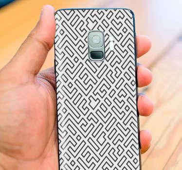 Стикер для телефона в нордическом стиле