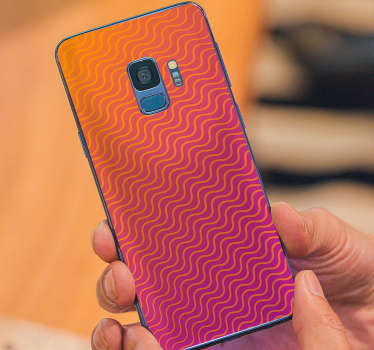 Gradient stickers for Samsung and for smartphones from other manufacturers. Amaze your friends with original decorations for the back of the phone.
