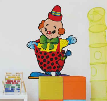Little Clown Kids Sticker
