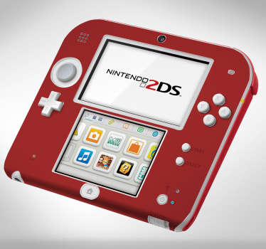 Lámina adhesivas color Nintendo