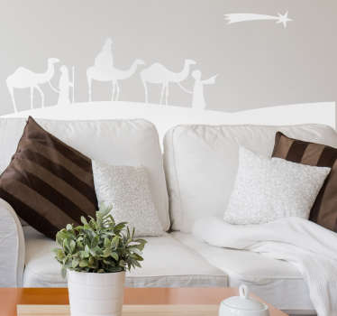Three Kings Wall Sticker