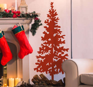 Christmas- An original feature for decorating your home during the Christmas period. Easy to apply and remove.