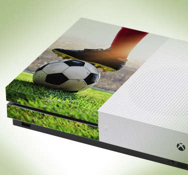 Decorative vinyl Xbox skin sticker with the design football stadium in 3d effect. Buy it in the size that model correctly with your game console.