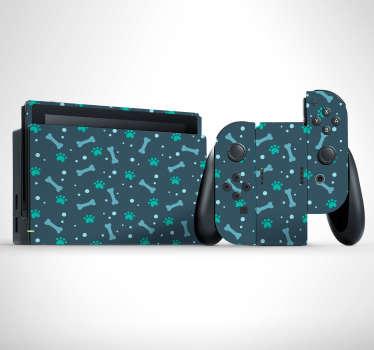 Ciekawe naklejki na Nintendo Switch to idealny pomysł na dopasowanie tego urządzenia do Twojego gustu. Sprawdź nasze naklejki z motywem psów.