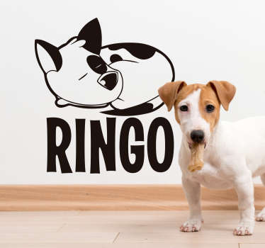 Jack Russel animal wall sticker