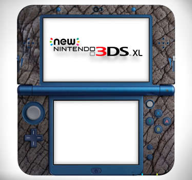 Decorative elephant skin texture Nintendo vinyl decal to cover the game console in beauty. Choose the model that is a match for your device.