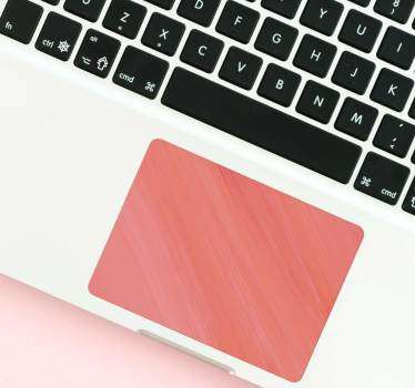 Pink Marble Trackpad Sticker