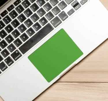 Laptop sticker Kleuren touchpad sticker