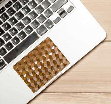 Geometric Pattern Trackpad Sticker