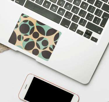 Circle Pattern Trackpad geometric sticker