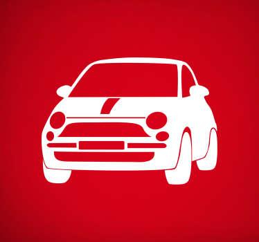 Adesivo per auto Fiat 500