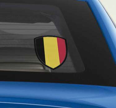 Sticker Tuning Écusson Belgique