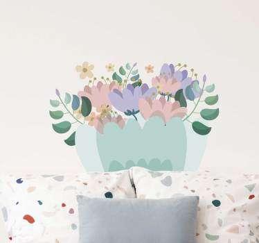 Decorative de flori de perete decor de perete