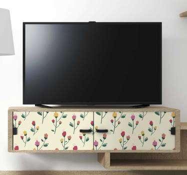 小牡丹客厅墙壁装饰