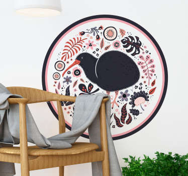 Take a look at this marvellouskiwi New Zealand bird wall sticker and imagine how much better your house could be. Extremely long-lasting material.