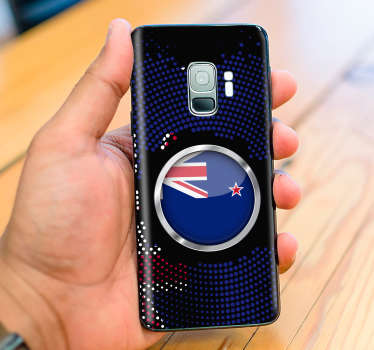 You have absolutely to personalize your smartphone with this incredible new zealand flag samsung phone skin. Trust our high quality vinyl.