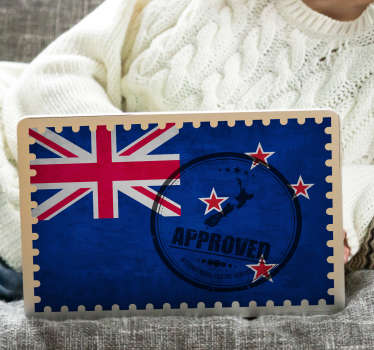 Put on your personal computer this incredible New Zealand stamp laptop sticker and decide to be really alternative. +10,000 satisfied customers.