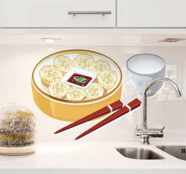 Oriental Food Decal