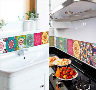 Moorish tiles Home Wall Sticker