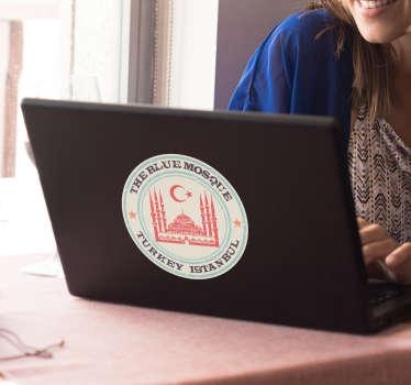 Sultanahmet camii laptop etiket