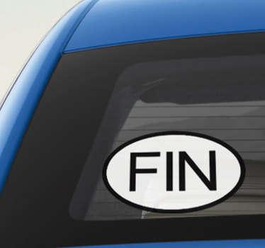 Koristeellinen autovinyylitarra, jossa suomen muotoiluteksti lyhyessä muodossa. Osta se niin paljon kuin haluat levittää mihin tahansa tasaiseen pintaan.