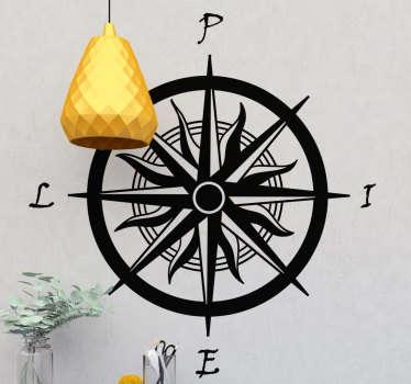 Osta vanha kompastitarra, joka on suunniteltu siten, että sen kaikki koordinaatit ovat oikeassa kulmassa. Sitä on erikokoisia ja -värisiä.