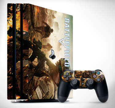 PS4 sticker battlefield