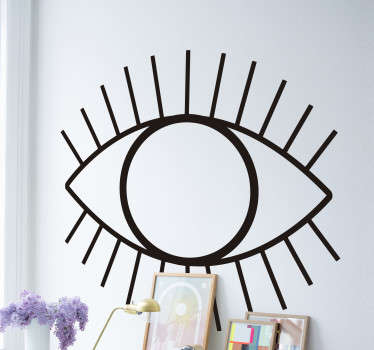 Abstract Eye wall art sticker