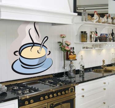 Wandtattoo Küche Suppe