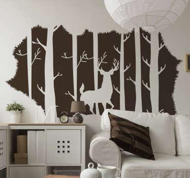 Florest 거실 벽 장식에 사슴