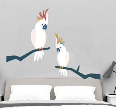 Cockatoo Bird Wall Sticker