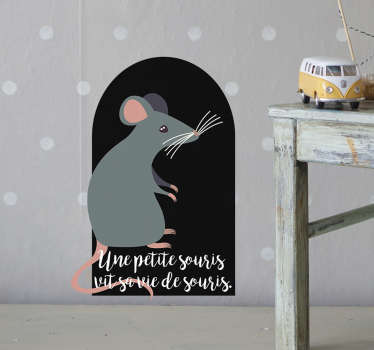 Sticker Chambre Enfant petite souris