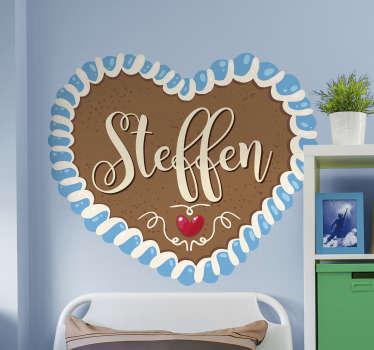 Wandfolie Oktoberfest personalisierter Sticker