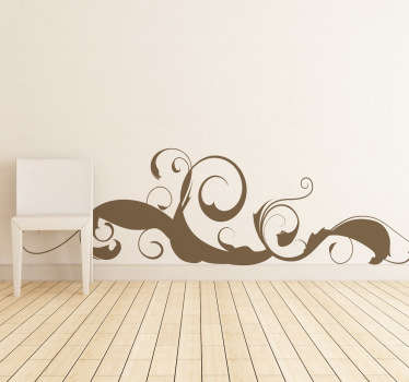 Curvy Strokes Wall Sticker
