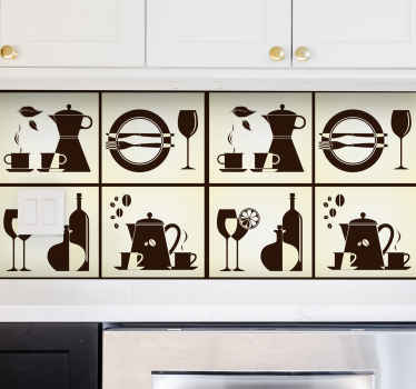 Kitchen Elements Wall Sticker