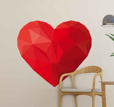 家や他のスペースのための美しいハート形の愛のステッカーの装飾。このデザインは高品質で作られ、簡単に適用できます。