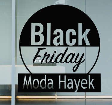 Vinilo rebajas black friday Tienda Personalizable