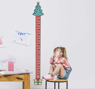 Feeing festive? We certainly are. This height chart sticker is perfect to measure each and every inch your child grows over the festive period!