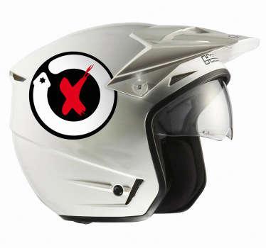 Vinilo moto logo Lorenzo's land