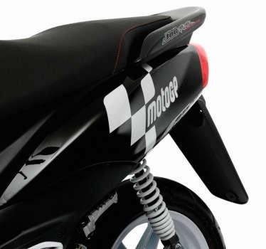 Moto GP Logo Aufkleber