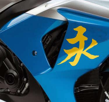 Sticker véhicule éternité chinois