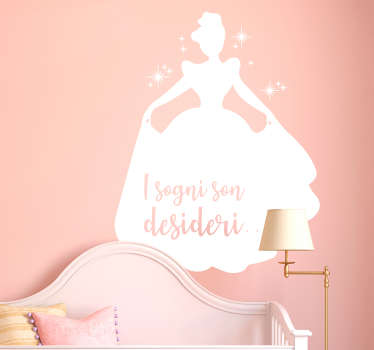 Sticker favole Cenerentola