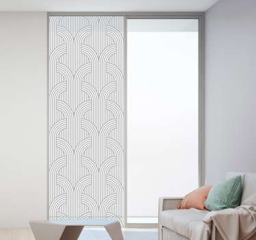 Line pattern Abstract Sticker