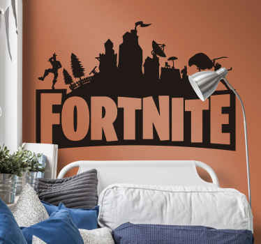 A superb Fortnite sticker for all fans and players of the game! Why not treat yourself or someone you love to this video game sticker?